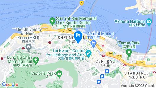 Holiday Inn Express Hong Kong Soho, an IHG Hotel Map
