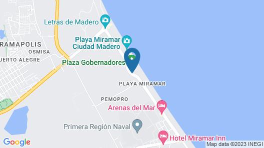 Club Maeva Miramar Tampico Map