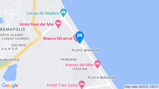 Club Maeva Miramar Tampico Map