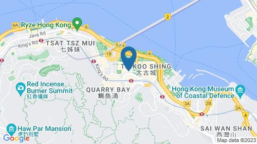 EAST Hong Kong Map