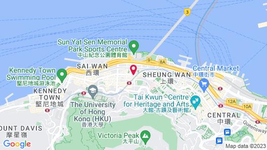 Ramada Hong Kong Harbour View Map