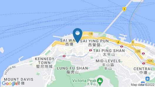 Best Western Plus Hotel Hong Kong Map