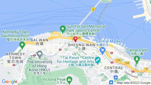ibis Hong Kong Central And Sheung Wan Map