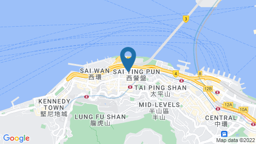 Island Pacific Hotel Map