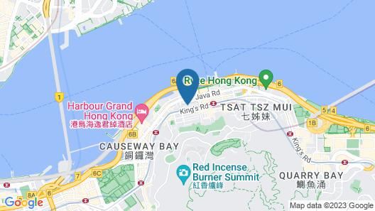 Ramada by Wyndham Hong Kong Grand View Map