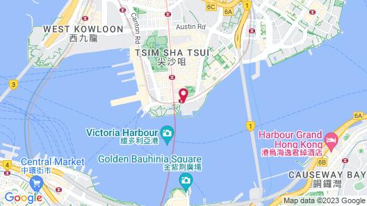 InterContinental Hong Kong Map