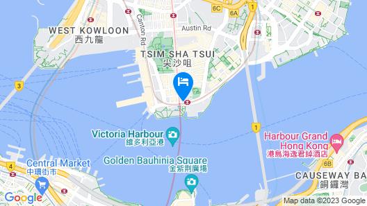 Sheraton Hong Kong Hotel & Towers Map