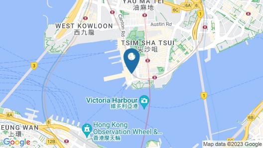 Marco Polo Hongkong Hotel Map