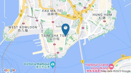 Best Western Plus Hotel Kowloon Map