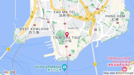 The Mira Hong Kong Hotel Map