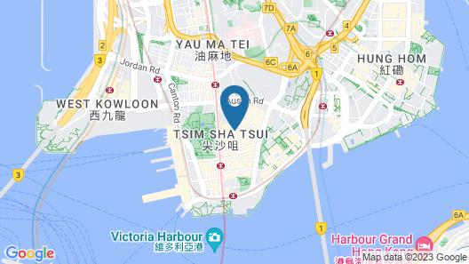 The Kimberley Hotel Map