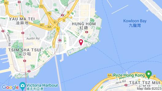 Kerry Hotel, Hong Kong Map