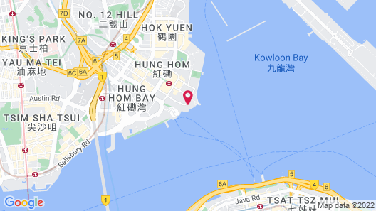 Harbour Grand Kowloon Map
