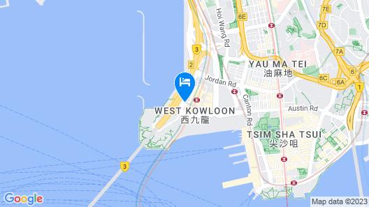 The Ritz Carlton Hong Kong Map
