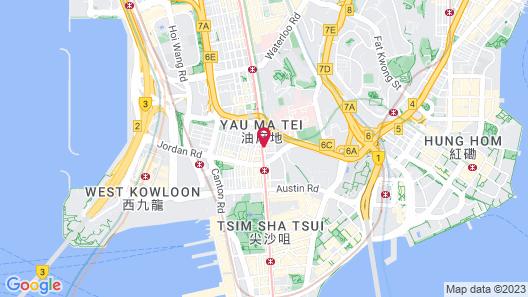 Hotel Madera Hong Kong Map