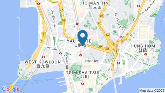 Novotel Nathan Road Kowloon Hong Kong Map