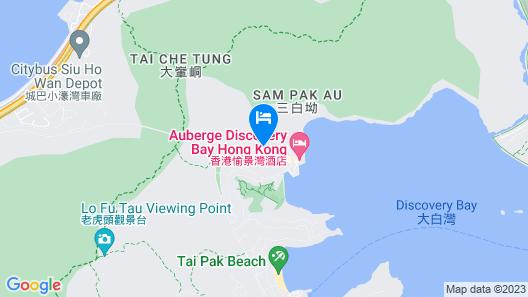 Auberge Discovery Bay Hong Kong Map