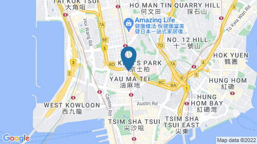 Asia Travel House Map