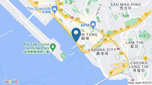 Yacht Hotel - Dream Princess Map