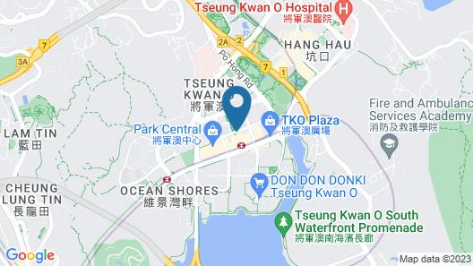 Crowne Plaza Hong Kong Kowloon East, an IHG Hotel Map