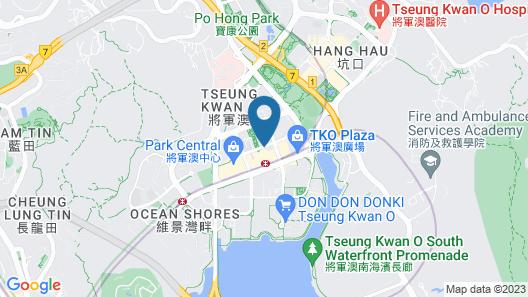 Holiday Inn Express Kowloon East, an IHG Hotel Map