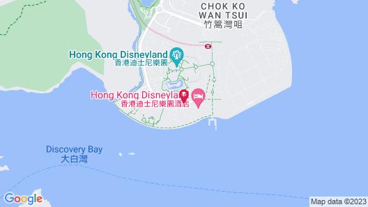Hong Kong Disneyland Hotel Map