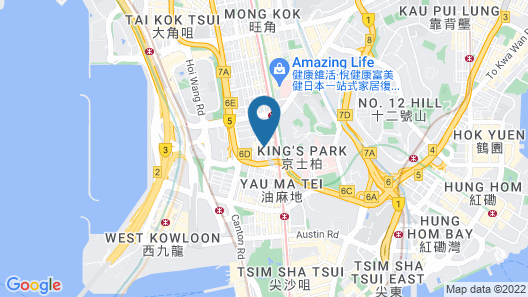 Silka Seaview Hotel Map