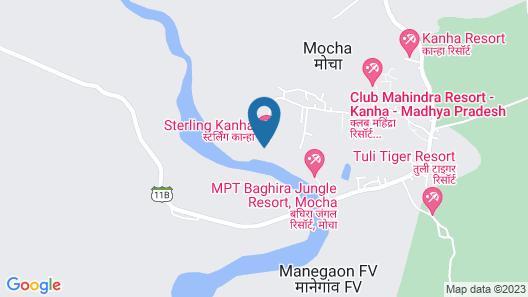 Sterling Kanha Map