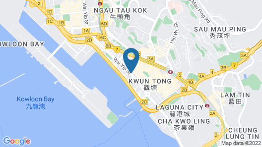 Hotel COZi · Harbour View (Previously Newton Place Hotel ) Map
