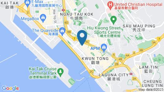 Nina Hotel Kowloon East (Formerly L'hotel élan) Map