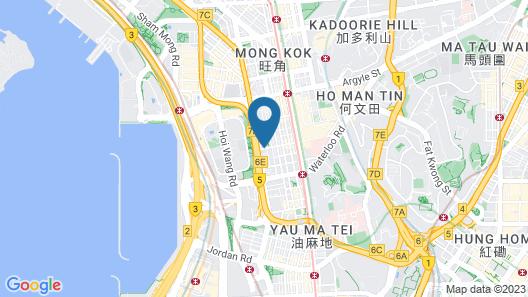 Holiday Inn Express Hong Kong Mongkok, an IHG Hotel Map
