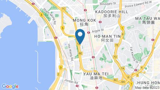 Hilton Garden Inn Hong Kong Mongkok Map