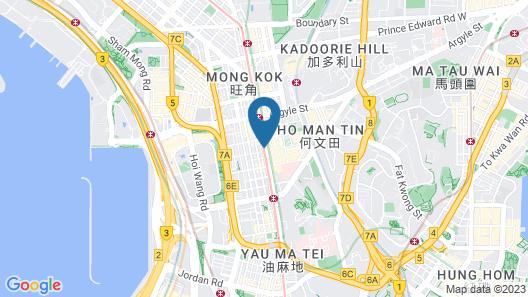 Mei King Hotel Map