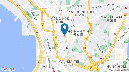 Me Easy Hostel Map