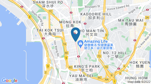 Kam Fu Guest House Map