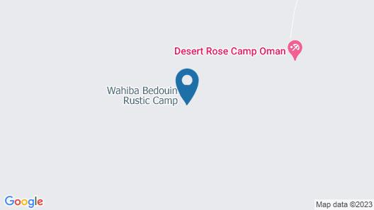 Wahiba Bedouin Rustic Camp Map