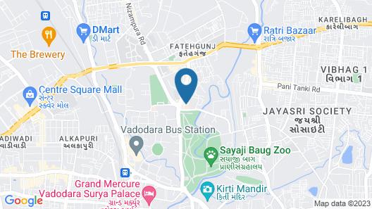 Ginger Vadodara Map