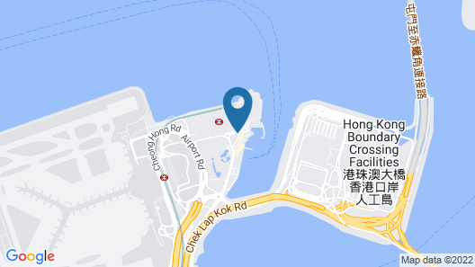 Hong Kong SkyCity Marriott Hotel Map