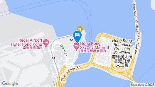 Hong Kong SkyCity Marriott Hotel Map