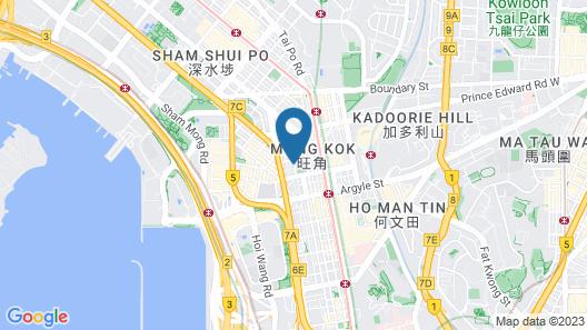 Lodgewood by Nina Hospitality丨Mong Kok Map