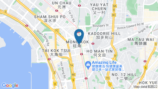 8 Days Boutique Hotel Map