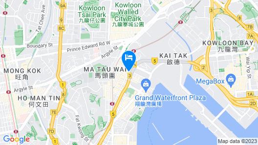 Cruise Hotel Map