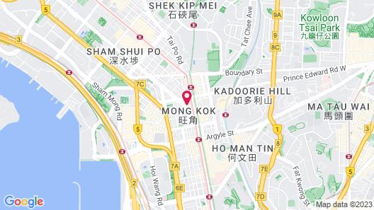 Metropark Hotel Mongkok Map