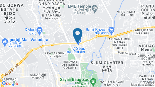 Four Points by Sheraton Vadodara Map