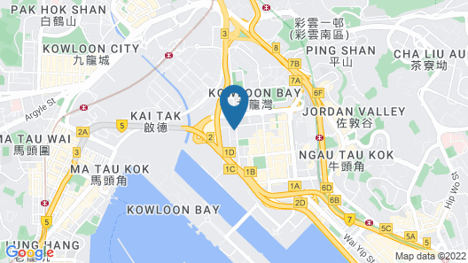 Camlux Hotel Map