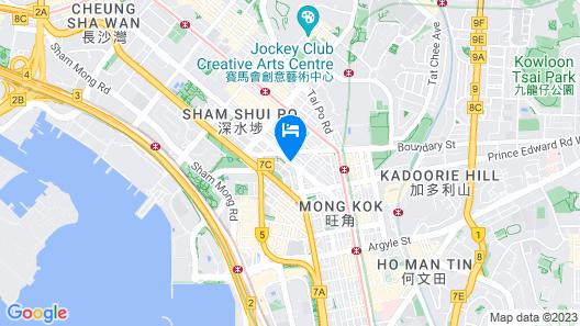 VP Hotel Map
