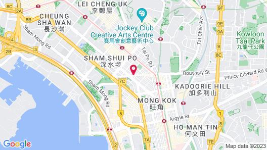 Lander Hotel Prince Edward Map