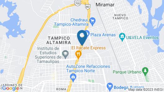 City Express Tampico Altamira Map