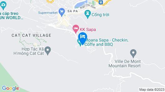 Pao's Sapa Leisure Hotel Map