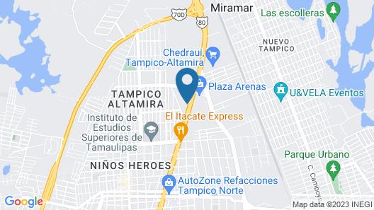 BONITTO INN® Tampico Altamira Map